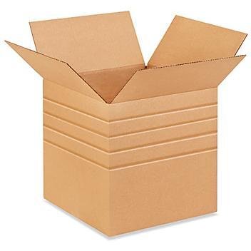 """15 x 15 x 15"""" Multi-Depth Corrugated Boxes S-4369"""