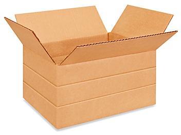 """12 x 9 x 6"""" Multi-Depth Corrugated Boxes S-4421"""