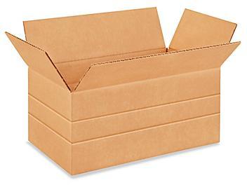 """14 x 8 x 6"""" Multi-Depth Corrugated Boxes S-4422"""