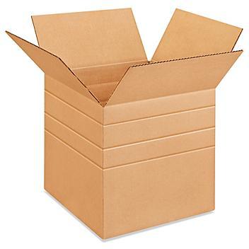 """14 x 12 x 12"""" Multi-Depth Corrugated Boxes S-4424"""