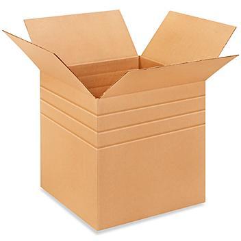 """17 x 17 x 17"""" Multi-Depth Corrugated Boxes S-4446"""