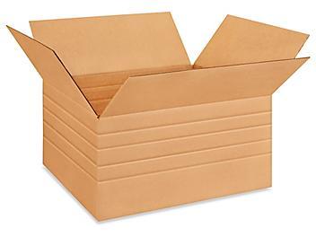 """26 x 20 x 12"""" Multi-Depth Corrugated Boxes S-4507"""