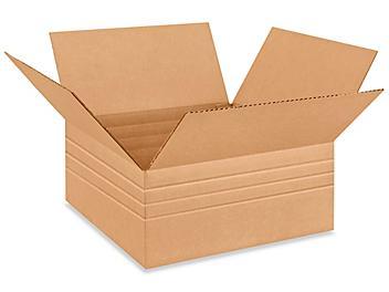 """14 x 14 x 6"""" Multi-Depth Corrugated Boxes S-4531"""