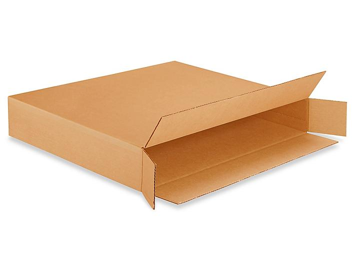 "30 x 5 x 24"" 200 lb FOL Side Loading Corrugated Boxes S-4553"