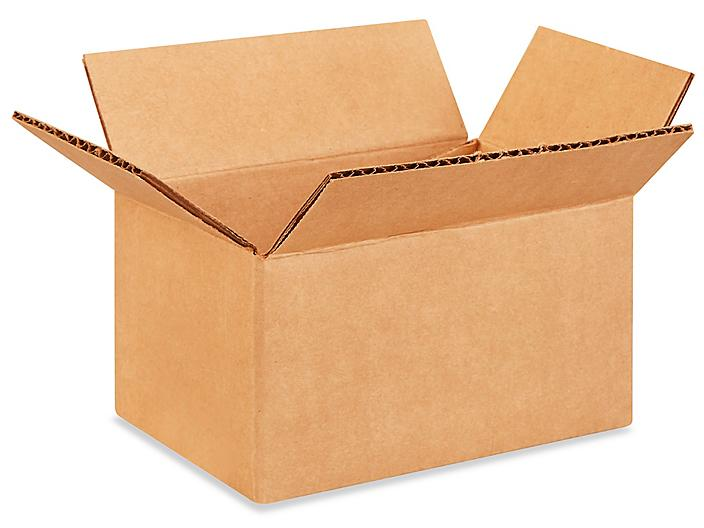 """6 x 4 x 3"""" Corrugated Boxes S-4582"""