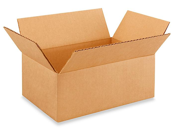 """10 x 7 x 4"""" Corrugated Boxes S-4708"""