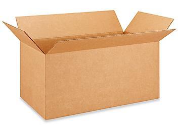 "24 x 12 x 12"" 275 lb Heavy Duty Corrugated Boxes S-4772"