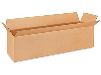 "48 x 12 x 12"" 275 lb Heavy Duty Corrugated Boxes S-4941"