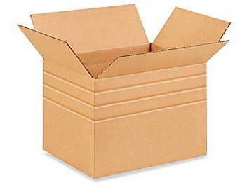 """16 x 12 x 12"""" Multi-Depth Corrugated Boxes S-539"""