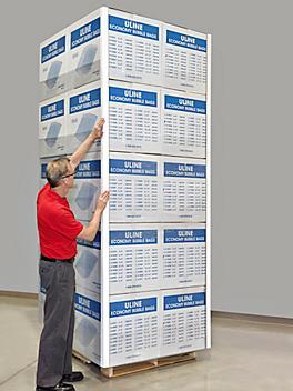 """Medium Duty Edge Protectors - .160"""" thick, 2 x 2 x 120"""" S-5509"""