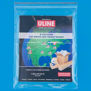 "10 x 13"" 2 Mil Minigrip® Reclosable Bags S-596"