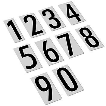 """3 1/2"""" Vinyl Numbers Kit S-6008"""