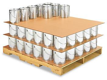 "40 x 48"" 275 lb Corrugated Pads S-6206"