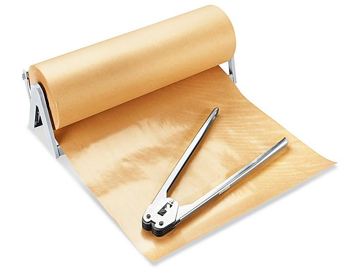"""Poly Coated Kraft Paper Roll - 24"""" x 600' S-6226"""