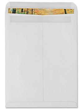 "Redi-Seal Envelopes - White, 12 x 15 1/2"" S-6290"