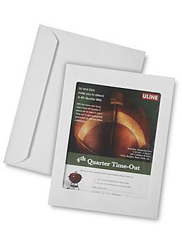 """Full View Window Envelopes - 10 x 13"""", White S-6295W"""