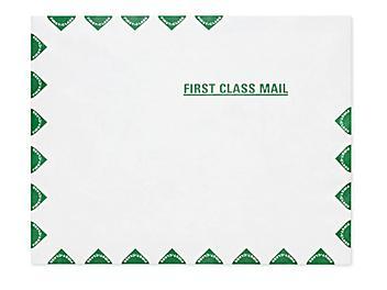 "Tyvek® Self-Seal ""First Class"" Border Envelopes - 10 x 13"" S-6365"