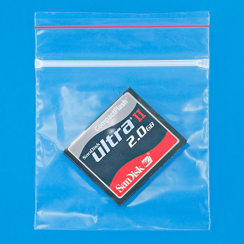 "3 x 3"" 2 Mil Minigrip® Reclosable Bags S-643"