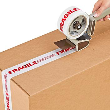 """Preprinted Tape - """"Fragile - Handle with Care"""", 2"""" x 55 yds S-732"""