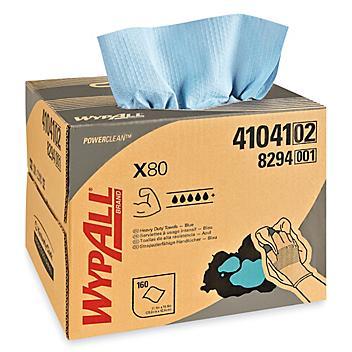 "WypAll® Shop Pro X80 Dispenser Box Wipers - 11 x 17"" S-8150"
