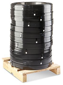 "Standard Grade Steel Strapping Skid Lot - 3/8"" x .015"" x 5,502' S-822S"