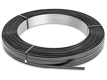 "Standard Grade Steel Strapping - 5/8"" x .020"" x 2,468' S-823"