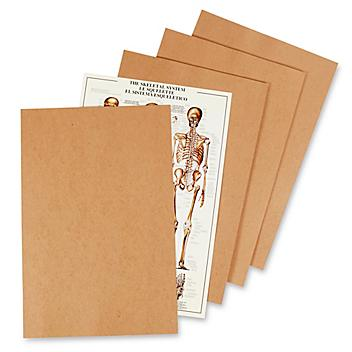 """26 x 38"""" Chipboard Pads - .030"""" thick S-8294"""