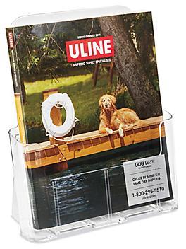 "Acrylic Countertop Literature Holders - 9 x 4 x 10"" S-8337"