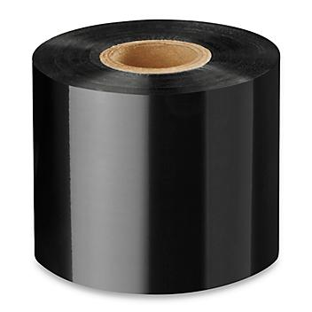"""Industrial Thermal Transfer Ribbons - Wax/Resin, 2.36"""" x 1,476' S-8392"""