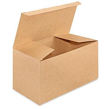 "Reverse Tuck Cartons - Kraft, 8 x 4 x 4"" S-8397"