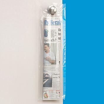 "7 1/2 x 25"" 1.5 Mil Newspaper Bags S-8467"