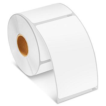 "Uline Mini Printer Labels - White Paper, 2 5/16 x 4"" S-8505"