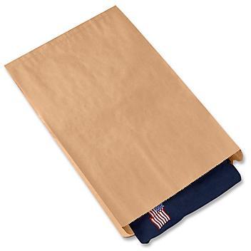 "Merchandise Bags - 12 x 3 x 18"", #16, Kraft S-8538"