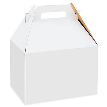 """Gable Boxes - 9 x 6 x 6"""", White S-9616"""
