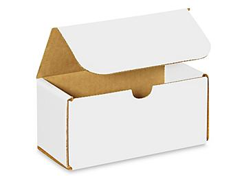 """6 x 3 x 3"""" White Indestructo Mailers S-961"""