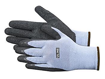 Uline Gription® Latex Coated Gloves - Large S-9634L
