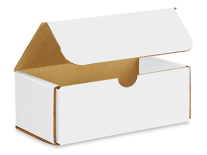 """6 1/2 x 3 5/8 x 2 1/2"""" White Indestructo Mailers S-966"""