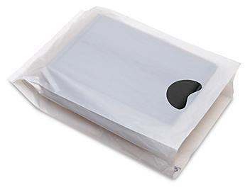 "Merchandise Bags - 9 x 3 x 14"", White S-9688W"