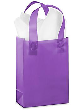 """Frosty Shoppers - 5 3/4 x 3 1/4 x 8 3/8"""", Rose, Purple S-9697PUR"""