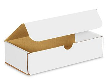 """8 x 4 x 2"""" White Indestructo Mailers S-976"""