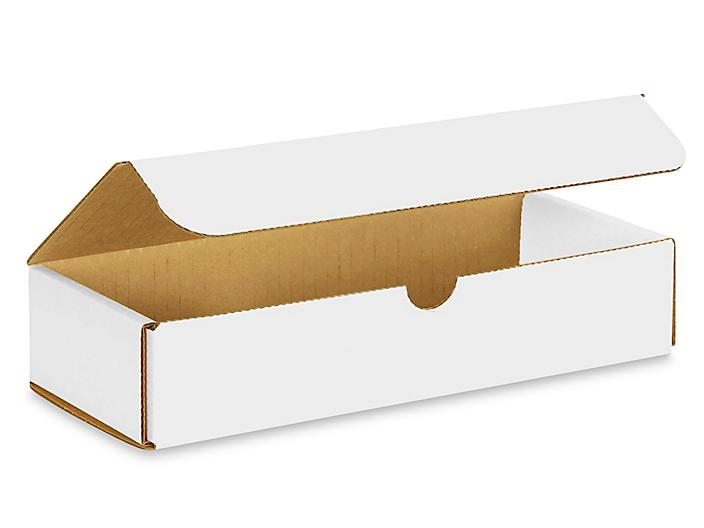 """10 x 4 x 2"""" White Indestructo Mailers S-978"""