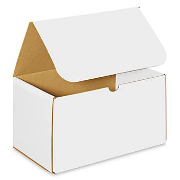 """10 x 6 x 6"""" White Indestructo Mailers S-9855"""