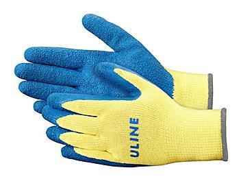 Uline Rubber Coated Kevlar® Cut Resistant Gloves - XL S-9867X