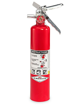 Fire Extinguisher - Class ABC, 2 1/2 lb S-9872