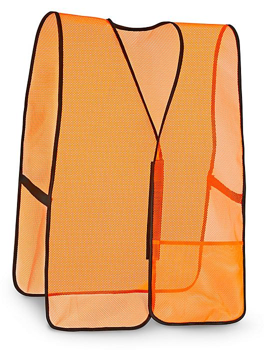 General Purpose Hi-Vis Safety Vest - Non-Reflective, Orange, 2XL/3XL S-9912O-XX