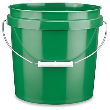 Plastic Pail - 2 Gallon, Green S-9941GR