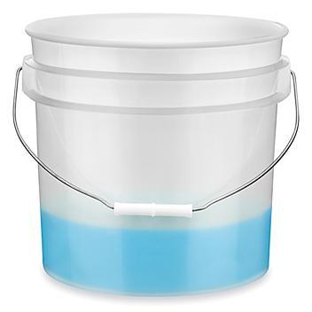 Plastic Pail - 3.5 Gallon, Natural S-9942NAT