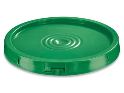 Standard Lid for 3.5, 5, 6 and 7 Gallon Plastic Pail - Green