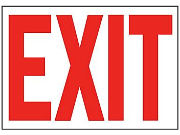 """""""Exit"""" Sign"""