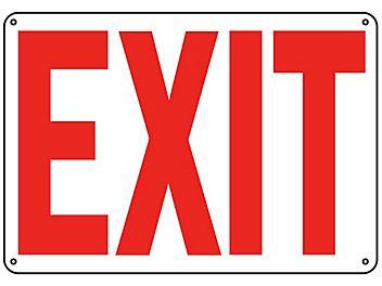 """""""Exit"""" Sign - Plastic S-9959P"""